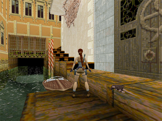 Game a Day ThreeSixtyFive: DAY 172 / GAME 172 Tomb Raider 2