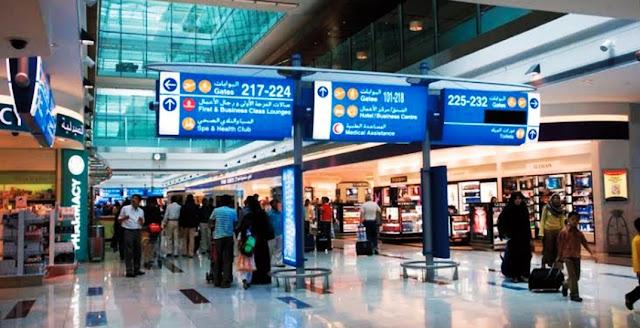 وظائف مطار دبي الدولي بالامارات براتب يصل الي 8000درهم