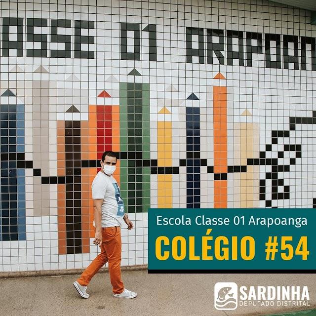 Tem mais instituição de Planaltina sendo contemplada com emendas do Sardinha!