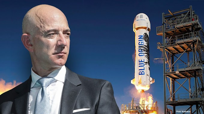 Blue Origin to launch Jeff Bezos, other passengers to space Tuesday