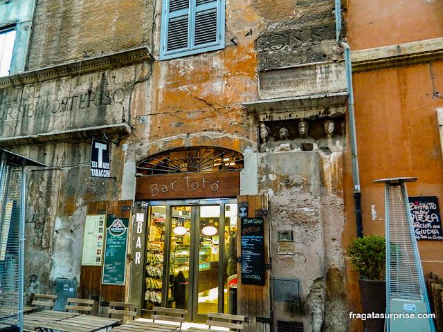 Bar no Ghetto Romano
