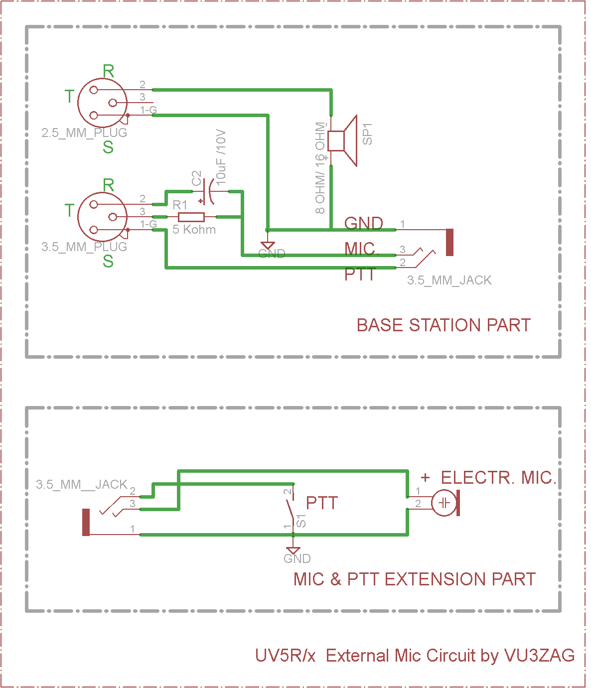 circuit drawing diagram vu3zag expedition circuit schema diagram baofeng headset