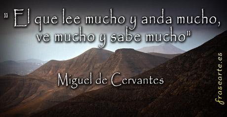 Frases sabias de Cervantes