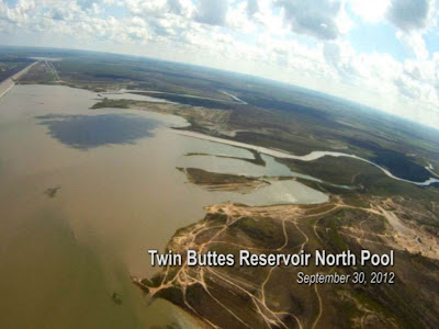 Image result for twin buttes north pool level with south pool