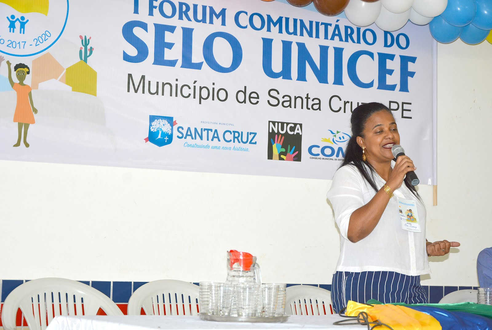 I FORUM COMUNITÁRIO DO SELO UNICEF