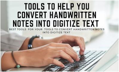Handwritten into Digitize Text