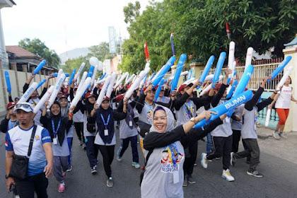 Tebarkan Semangat Positif, BUMN Hadir Untuk Negeri Semarakkan Kemerdekaan di Gorontalo