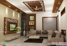Kitchen and Living Room Interior Design