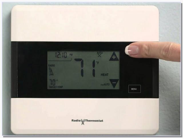 Radio Thermostat ct50 Reset
