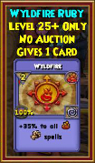Wyldfire - Wizard101 Card-Giving Jewel Guide