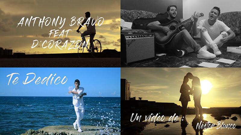 Anthony Bravo y D´Corazón - ¨Te dedico¨ - Videoclip - Dirección: Néstor Blanco. Portal del Vídeo Clip Cubano