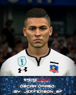 PES 2017 Faces Óscar Opazo by FaceEditor Jefferson_SF