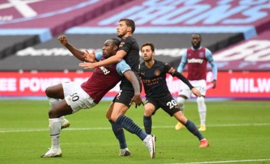 Highlights West Ham United vs Manchester City 1-1