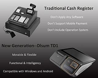 Shreyans 11.6iN. All in One Touch POS Machine with Windows OS, Receipt Printer, Credit Card Scanner, Customer Display POS Guru.