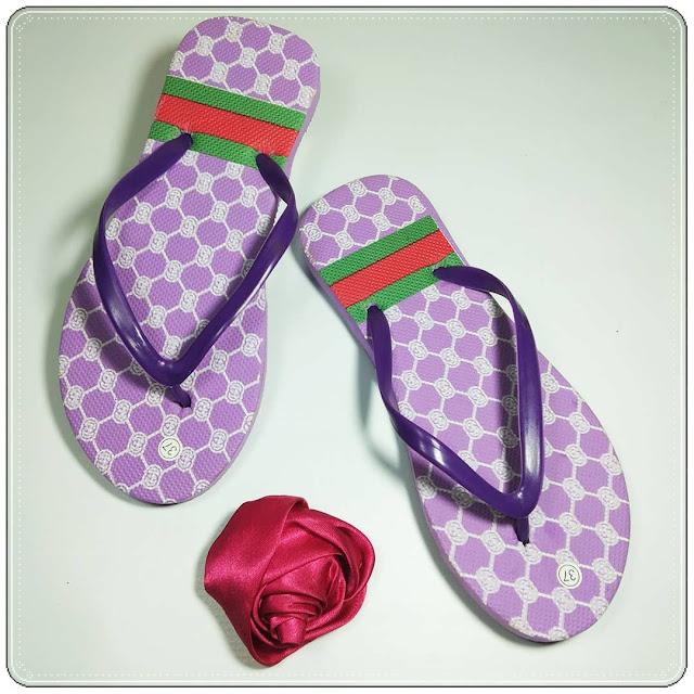 Sandal Spon Trendi Termurah Harga Pabrik | Sandal Amx Gc Wanita