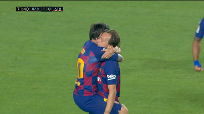 LFP-Week-31 Barcelona 1 vs 0 Athletic Bilbao 23-06-2020