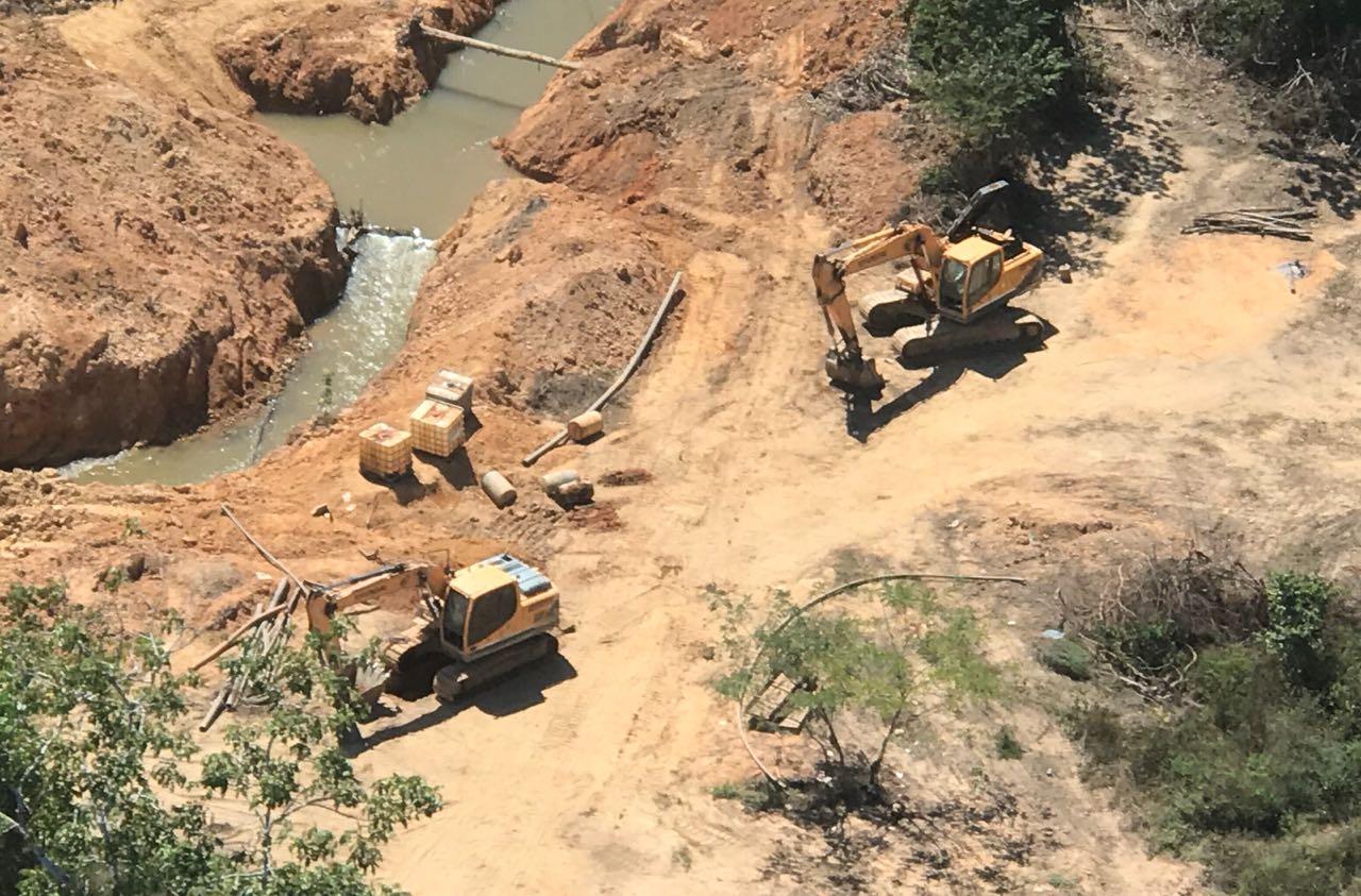 Calculadora vai medir dano monetário de garimpos ilegais de ouro na Amazônia