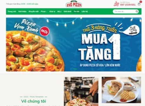 Template blogspot ẩm thực nhà hàng