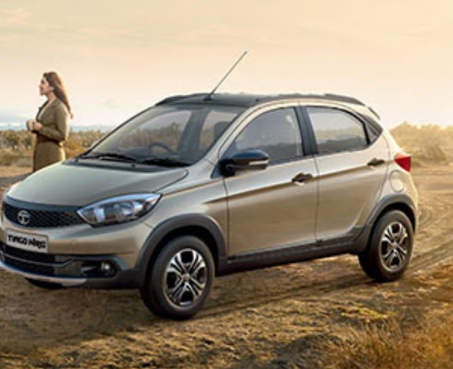 Tata motors launch Tiago NRG AMT version.