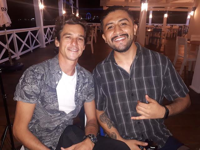 Patricio Dietman y Max Velez.