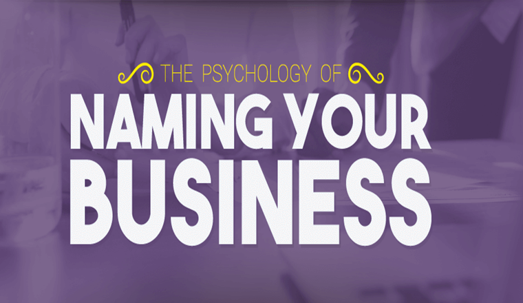 The Psychology of Naming Your Business #infographic