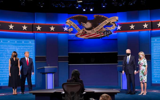 Presidenziali Usa, l'ultimo duello Trump-Biden finisce in parità