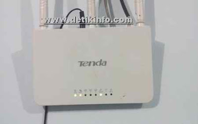 cara ubah password wifi router tenda dari HP Android