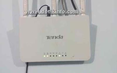 Cara Ubah sandi WiFi dan SSID Router Tenda dari HP Android