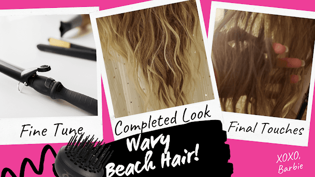 how to diffuse wavy hair By barbies Beauty Bits