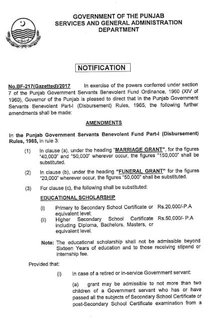 Benevolent Fund 2020 Amendments
