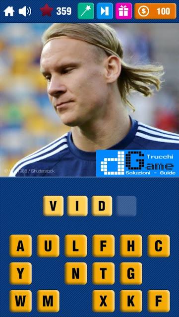 Calcio Quiz 2017 soluzione livello 351-360 | Parola e foto
