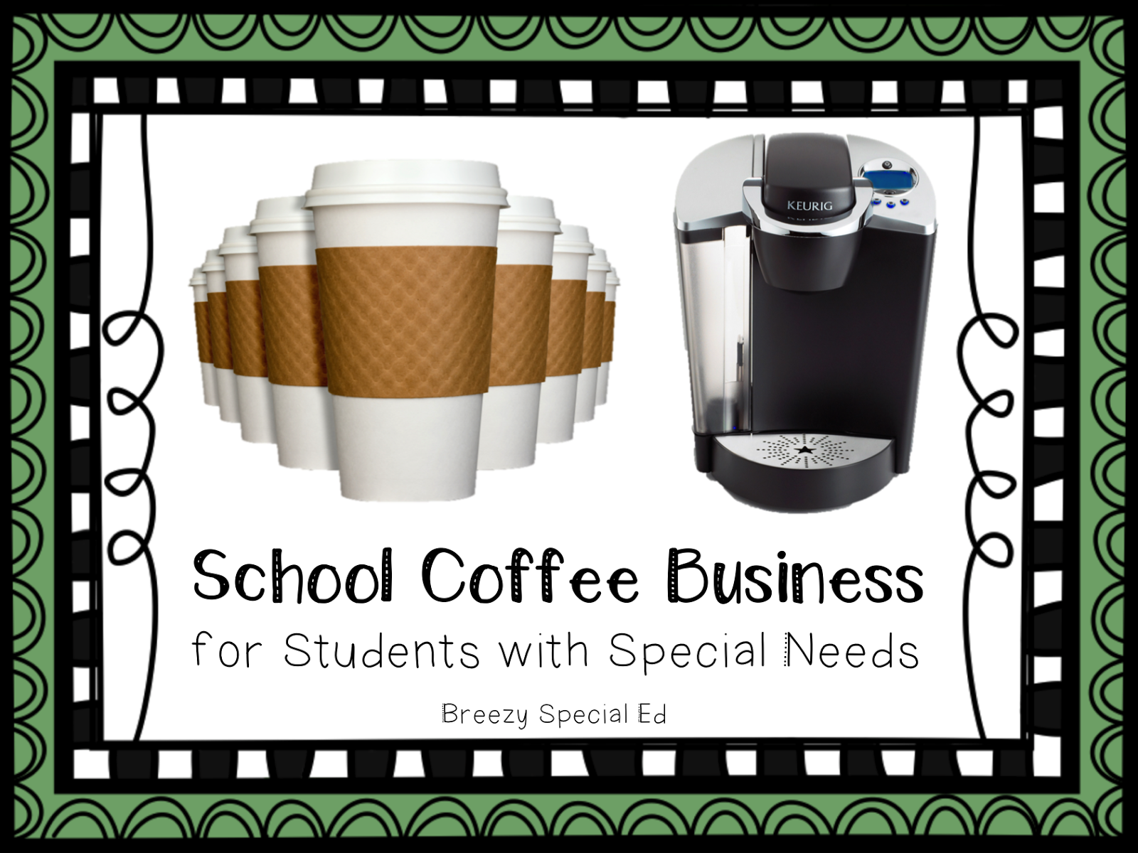 Student Coffee Business For Special Education