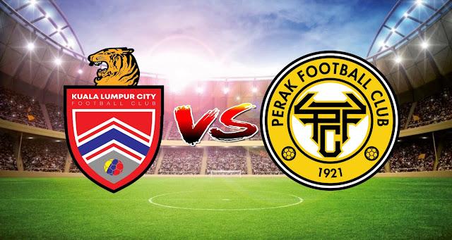 Live Streaming Kuala Lumpur FC vs Perak FC 17.3.2021 Liga Super
