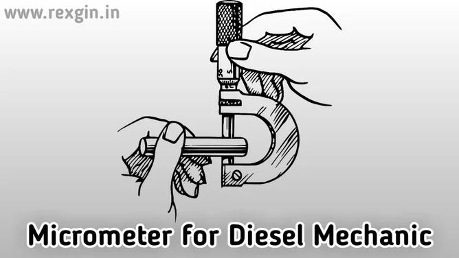 Napne Wala Aujar Micrometer For Diesel Mechanic