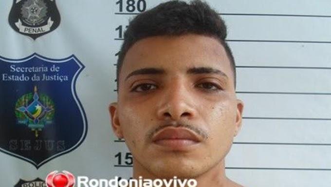 Perseguição acaba com apenado e adolescente detidos com moto roubada