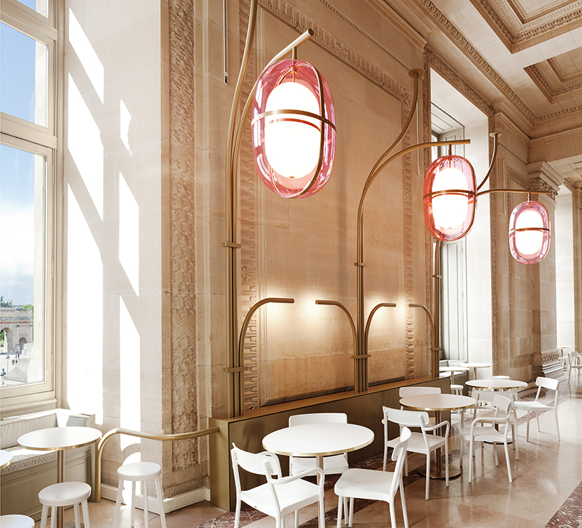 Opulent and breathtaking Paris Cafe Mollien in the Louvre - found on