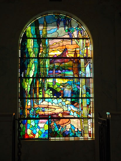 Hollywood Forever Cemetery Stained Glass