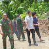 Ketua DPRD Barru Kunjungi Program TMMD ke 107 Kodim 1405/Mlts