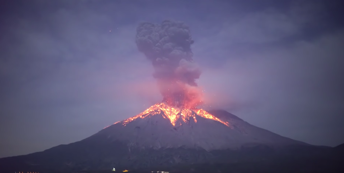 【影片】日本鹿兒島 櫻島火山爆發