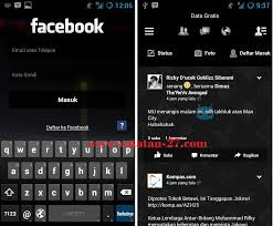Facebook Dark Transparan APK