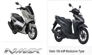 Perbandingan Nmax  non ABS dengan Vario 150 eSP