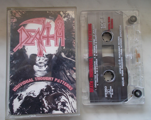 "Death - ""Individual Thought Patterns"" - kaseta"