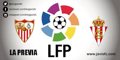 Previa Sevilla FC - Sporting de Gijón