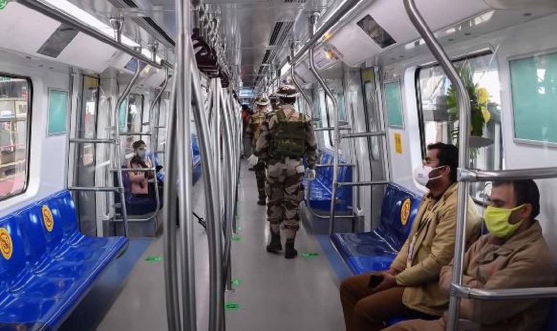 Modi launches driverless metro