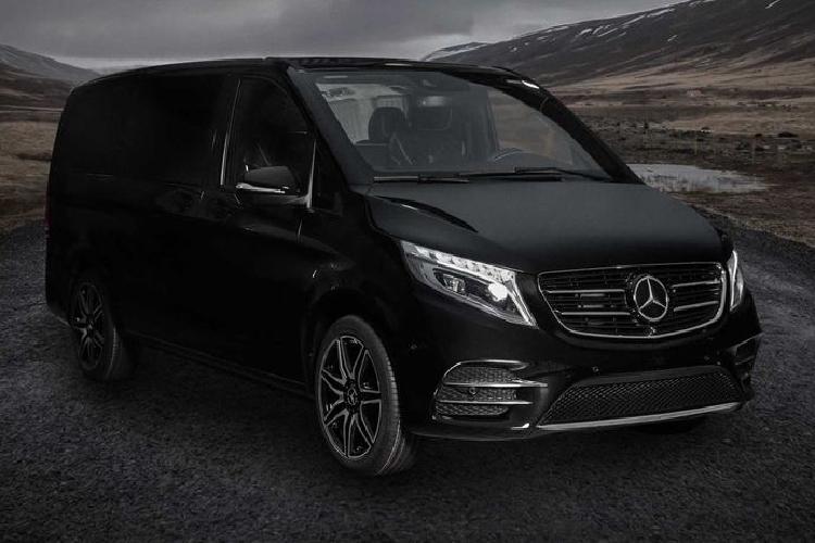 Soi 'phòng họp di động' Mercedes V-Class từ Schawe Car Design