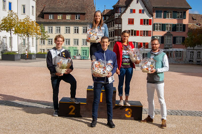 Schaffhauser Stadtlauf Siegerehrung