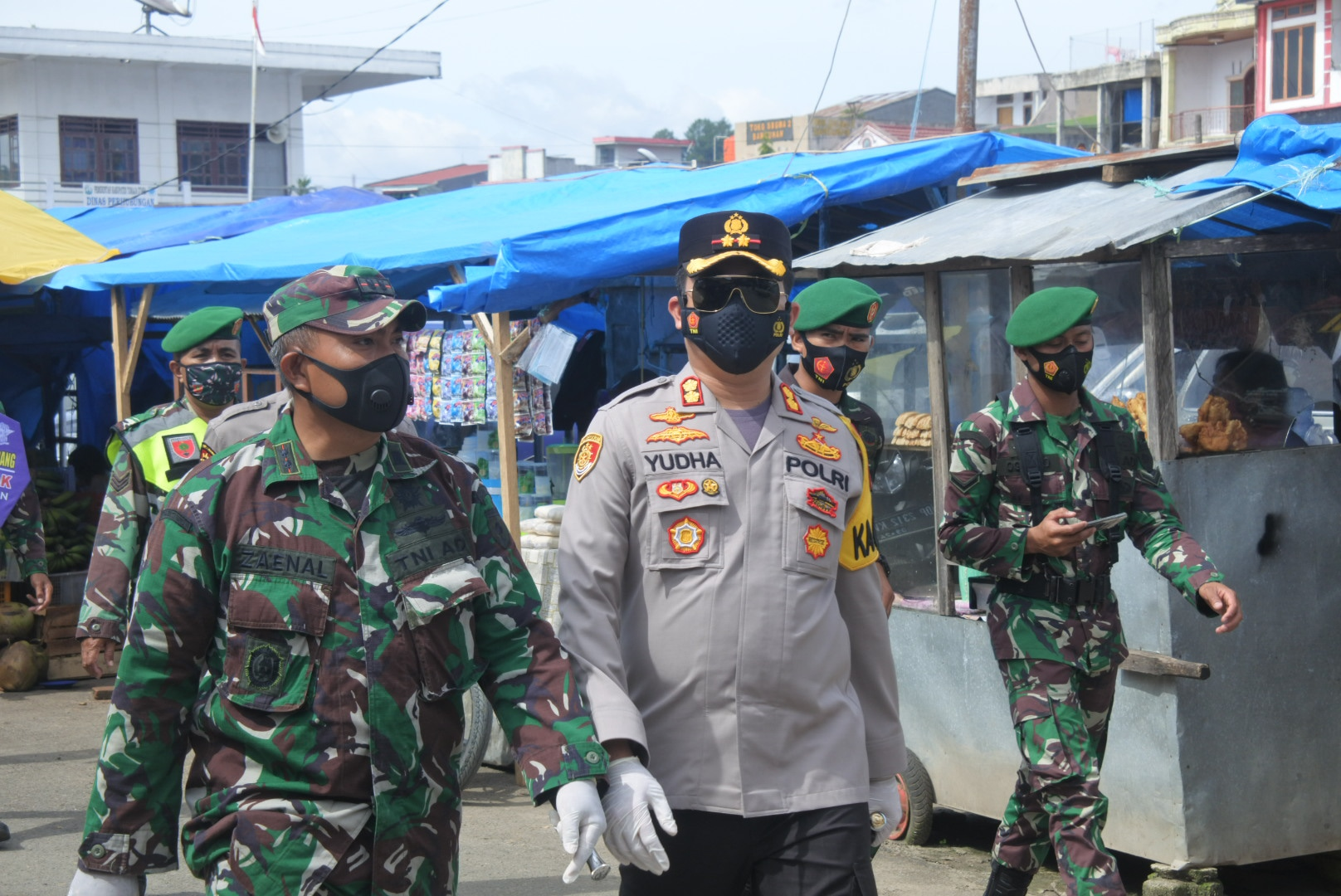 Di Hari Kesembilan Kapolres Toraja Utara Pimpin Operasi Aman Nusa II