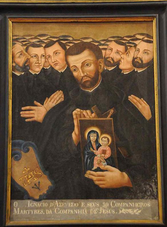 Beato Inácio de Azevedo  e companheiros, Museu Pio XII, Braga, Portugal