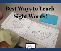 Blog post about best way to teach sight words from Teach Magically