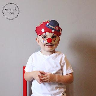 Maska clown